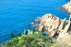 Krajobrazowy Costa Brava Zdjęcie Royalty Free