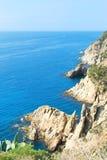 Krajobrazowy Costa Brava Fotografia Stock