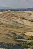 krajobrazowy Crete senesi Obraz Stock