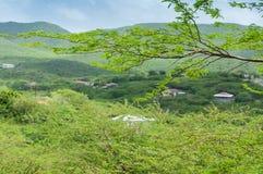 Krajobrazowy Curacao zdjęcie royalty free