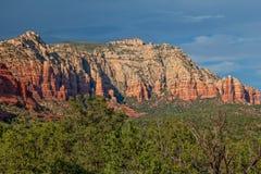 krajobrazowy czerwieni skały sedona Obrazy Stock