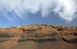 krajobrazowy El teide Zdjęcia Stock