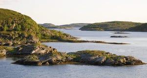 krajobrazowy fjord norweg Obrazy Royalty Free