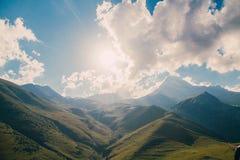 Krajobrazowy góra kasztel Zdjęcia Stock