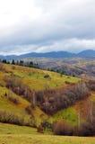 krajobrazowy halny dżdżysty Zdjęcia Royalty Free