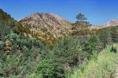 krajobrazowy halny malowniczy Zdjęcie Royalty Free