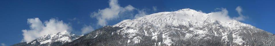 Krajobrazowy Halny panorama widok Zdjęcie Royalty Free