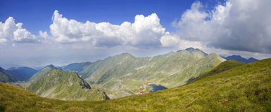 krajobrazowy halny panoramiczny Zdjęcia Stock