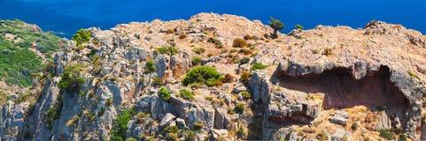 krajobrazowy halny panoramiczny corsica Obraz Royalty Free