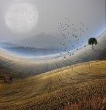 krajobrazowy halny pokojowy zdjęcie stock