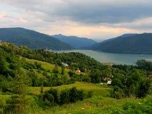 krajobrazowy halny Romania zdjęcia stock