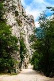 krajobrazowy halny sceniczny Zdjęcia Royalty Free