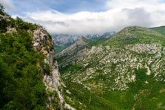 krajobrazowy halny sceniczny Zdjęcia Stock