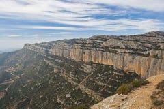 krajobrazowy halny skalisty Zdjęcia Royalty Free