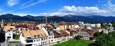 krajobrazowy halny szwajcar Obrazy Stock