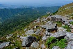 Krajobrazowy Halny tło Zdjęcie Royalty Free