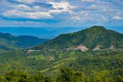 Krajobrazowy halny Thailand Obraz Stock