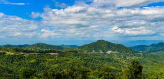 Krajobrazowy halny Thailand Zdjęcia Royalty Free