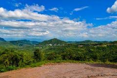 Krajobrazowy halny Thailand Obrazy Royalty Free
