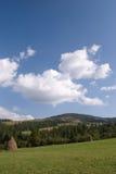 krajobrazowy halny wiejski Fotografia Royalty Free