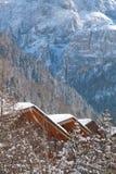 krajobrazowy halny wintertime Zdjęcia Royalty Free