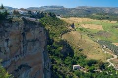 Krajobrazowy Hiszpański miasto Fotografia Royalty Free