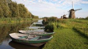 krajobrazowy Holland wiatraczek zdjęcie stock