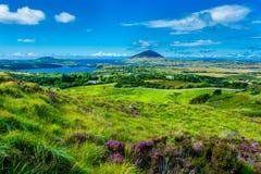 Krajobrazowy i Brzegowy Connemara w Irlandia zdjęcia royalty free