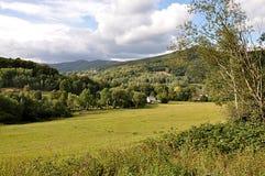 Krajobrazowy Jeseniky, republika czech, Europa Obraz Royalty Free
