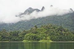 Krajobrazowy jeziorny widok Fotografia Stock