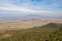 Krajobrazowy Kenja Obraz Stock