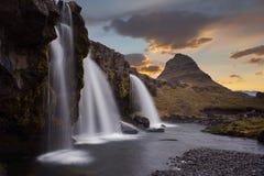 Krajobrazowy kirkjufell Iceland Obraz Royalty Free