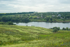 krajobrazowy kraju ukrainian Obraz Royalty Free