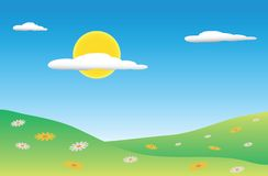 krajobrazowy lato Zdjęcia Stock
