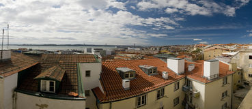 krajobrazowy Lisboa Portugal Obrazy Stock