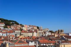 krajobrazowy Lisbon Zdjęcie Royalty Free