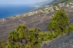 Krajobrazowy los angeles Palma, wyspy kanaryjska Zdjęcia Stock