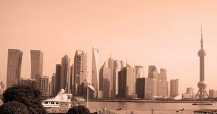 krajobrazowy lu miastowy nowożytny Shanghai Fotografia Stock