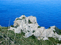 krajobrazowy Mallorca Fotografia Royalty Free