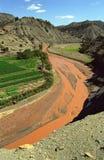 krajobrazowy marokański Obrazy Royalty Free