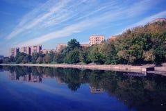 krajobrazowy miasteczko Obrazy Royalty Free