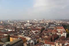 krajobrazowy miastowy Zdjęcie Royalty Free