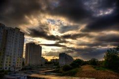 krajobrazowy miastowy Zdjęcia Stock