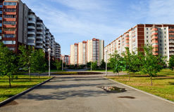 krajobrazowy miastowy Obraz Royalty Free