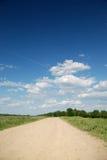krajobrazowy midday drogi lato Fotografia Stock