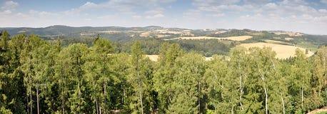 Krajobrazowy Moravia, republika czech, Europa Obraz Royalty Free