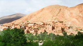krajobrazowy moroccan Fotografia Royalty Free