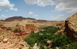 krajobrazowy moroccan Obrazy Stock