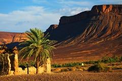 krajobrazowy moroccan Zdjęcia Royalty Free