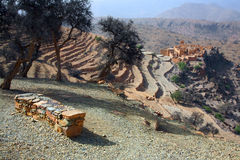 krajobrazowy moroccan Obraz Royalty Free